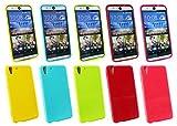 Emartbuy® HTC Desire Eye Shiny Gloss Gel Hülle