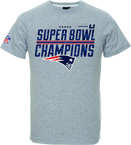 - SUPERBOWL 51 CHAMPIONS T-SHIRTS - HEATHER GREY (Superbowl Patriots T-shirts)