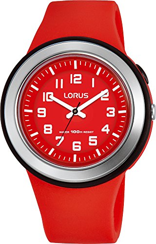 Lorus Unisex Analogue Quartz Watch with Silicone Strap R2309MX9