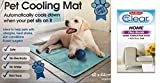 Dog Cat Pet cooler Cooling Cool Gel Mat Bed Pad 60 x 44cm Blue