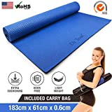 Dr Trust PVC Yoga Mat with Bag