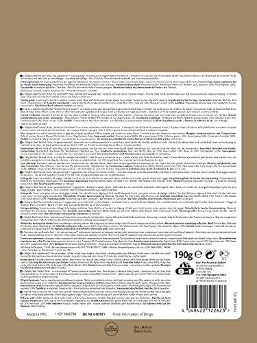 8in1 Delights Beef Twisted Sticks (gesunder Kausnack für sensible Hunde, hochwertiges gedrehtes Rindfleisch), 35 Stück (190 g Beutel) - 5