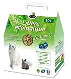 Litière végétale en Granulés Chats et Rongeurs OCTAVE Nature - 10 litres - TERRANIMAL