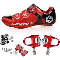 TXJ Chaussures de cyclisme avec système de fixation aux pédales