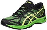 ASICS Gel DS Trainer 21, Chaussures de Running Compétition Homme, Noir (Black/Safety Yellow/Green Gecko), 44 EU