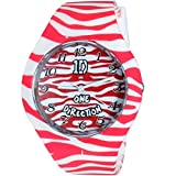 Super Drool Red Zebra Wrist Watch