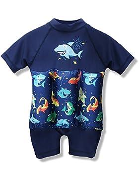 Einteiliges Kinderbaby-Mädchen-schwimmende Auftriebs-Badeanzüge Badebekleidungs-Schwimmer-Anzüge Schwimmender...