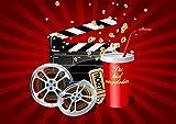 10 Kino-Einladungen (Set 2)/Geburtstagseinladungen Jungen Mädchen Kinder: 10-er Set Kino-Einladungskarten für den nächsten Kindergeburtstag im Kino von EDITION COLIBRI © (10716)