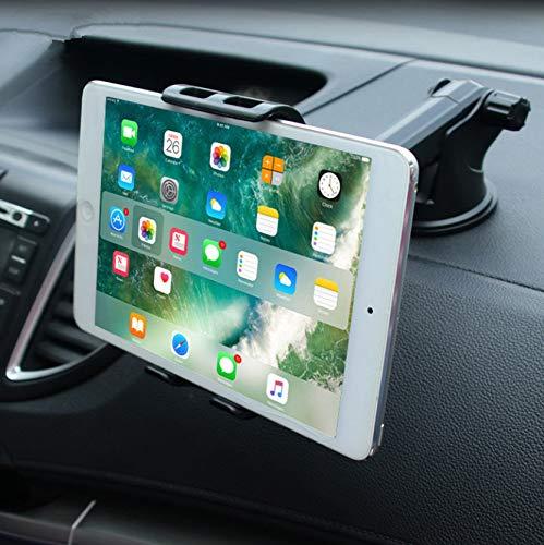 PTICA Universal Tab Autohalterung Tablet Windschutzscheibenständer Sticky Mount Support Halter mit 360-Grad-Drehung und 5-10-Zoll-Halterung für Tablet