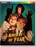 Ministry of Fear - Limited Edition Blu Ray [Blu-ray]