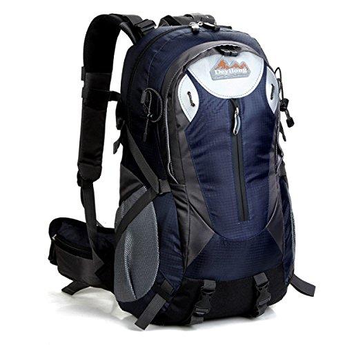 40L Neu Explosion Im Freien Bergsteigen Rucksack Mit Trägt System Wandern Tasche Dark
