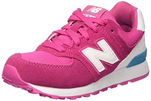 New Balance Kl574czp M, Baskets Basses Mixte Enfant Rose (Pink)