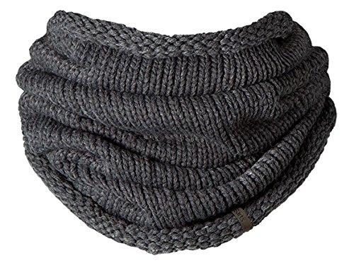 Barts - Charlie Col, Set sciarpa, cappello e guanti Uomo, Grigio (Grau), Taglia unica (Taglia Produttore: One Size)