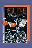 Fahrrad Geburtstag Karte Grußkarte Radeln Rennrad Foliendruck 16x11cm