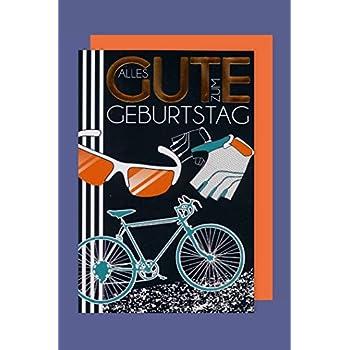 Geburtstagskarte mit Fahrrad-Motiv: Amazon.de: Küche