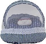 Anmol dbc280 Anmol dark blue cotton bedd...