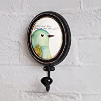 Retro Old Bird Parrot Decoration Hook/Clothing Store Creative Clothing Hat Hook/Clothes Hook-A