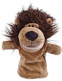 Y-BOA – Théâtres Marionette à main - Peluches Animaux Mignons– 24*12cm –Jouet Adult/Enfant Fille Garçon