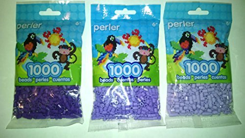 Perler Bead Bag, Purple Group Purple, Light Lavender, Pastel Lavender by Perler -
