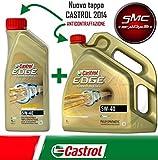 ricambi auto smc Olio Motore CASTROL Edge Turbo Diesel Fst 5W40 LT.5