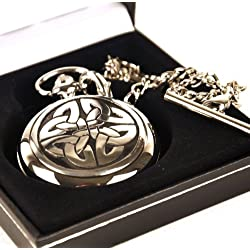 4 Triag Knot Celtic Pocket Watch