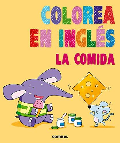 Colorea En Inglés. La Comida