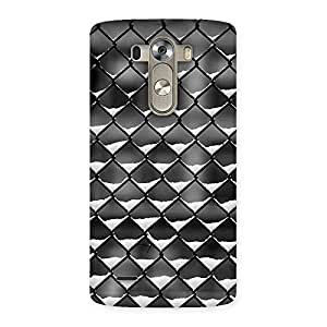 Snow Cage Back Case Cover for LG G3