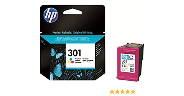 Hp 301 Tri Colour Ink Cartridge Elektronik