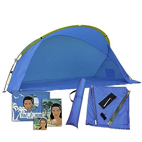 Tente de plage protectrice Venus: Gardez vos enfants en sécurité contre les rayons UV! 30 tentes portables SPF pour le vent, le soleil et la pluie. Voyage & canopée en plein air Abri pour ombre Votre enfant, Bébé et bébé mieux que parapluies