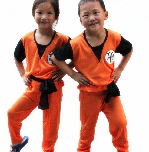 Dragon Ball Goku Gohan Kostum Kinderkostum Junge 130cm-140cm