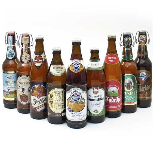 Probierpaket \'Bayerische Bierspezialitäten\' (9 Flaschen / 5,4 {8929a814a0d29f6f1369ba0daf0afcdb85574387f6b7494545e4b50b4da631f2} vol.)