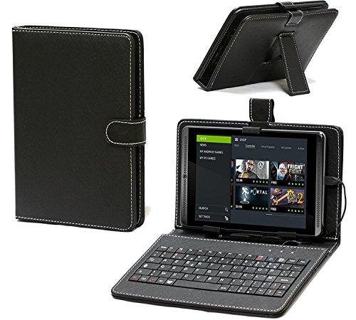 Navitech housse étui clavier français AZERTY avec support pour Lenovo Tab 3 Essential 7-Inch Tablet
