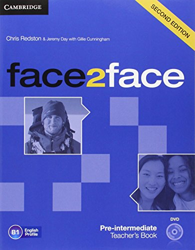 face2face Pre-intermediate Teacher's Book with DVD by Chris Redston (22-Mar-2012) Paperback