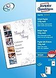 Avery Zweckform 2579-100 Superior Inkjet Papier (A4, einseitig beschichtet, matt, 150 g/m) 100 Blatt