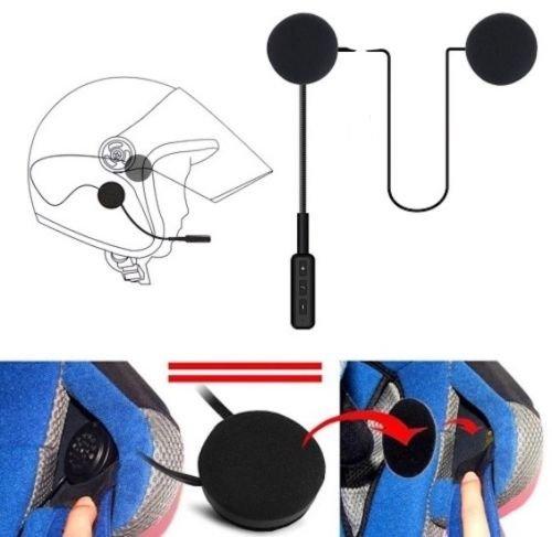 DOBO® Auricolare Casco Senza Fili moto scooter cuffie microfono chiamata bluetooth ricaricabili musica e chiamat