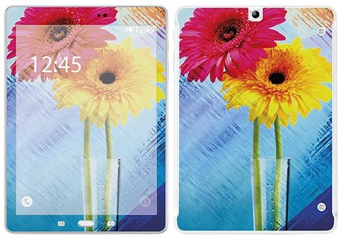 'Royal adesivo RS.115070adesiva per Samsung T815Tab S29,7motivo vaso floreale - Vinile Vasi