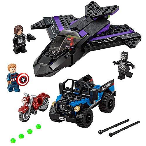 LEGO Super Heroes Black Panther Pursuit...