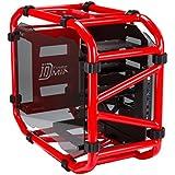 In Win D-Frame - Caja de ordenador de sobremesa (Mini-ITX), rojo, rojo
