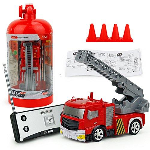 RC Feuerwehr kaufen Feuerwehr Bild 1: RC Feuerwehrfahrzeug, Vicoki Ferngesteuert Mini Ferngesteuertes Fahrzeug Feuerwehr Auto Spielzeug*