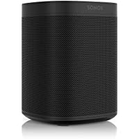 Sonos One – Voice Controlled Smart Speaker with Amazon Alexa Built In (Black)