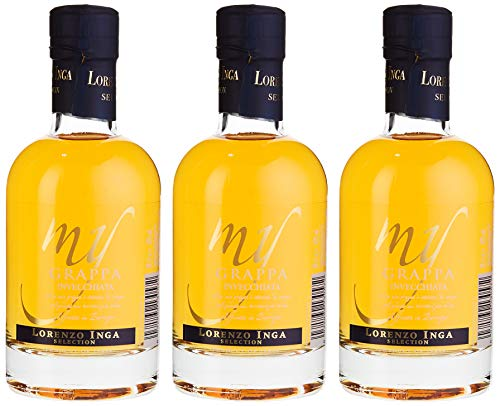 Inga My Grappa Affinata in Barrique Selection Miniatur (3 x 0.2 l)