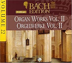 Bach Edition Vol.22 Orgelwerke - 9 Cd Box