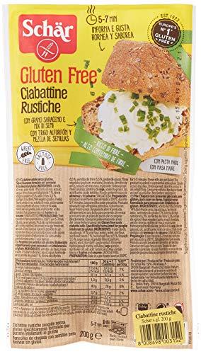 Schär ciabattine rustiche - 6 confezioni da 4 pezzi, senza glutine
