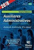Auxiliares Administrativos de la Junta de Andalucía (C2.1000). Temario. Vol.2. 3ª edición.