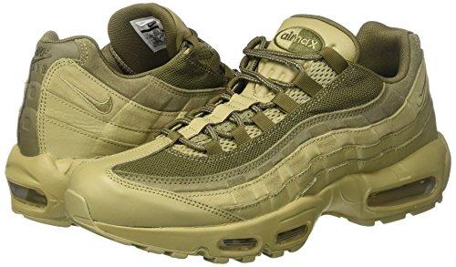 half off 2774e 75fe9 Nike Air MAX 95 PRM, Zapatillas de Gimnasia para Hombre, Verde (Neutral.