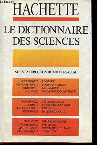 Le Dictionnaire des sciences par Lionel Salem
