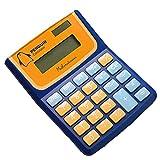[Penguin] Portable 8 Digitals Cartoon Basic Calculator Solor Calculator BLUE