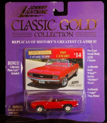 Gold Small Rim (1969 Camaro Johnny Lightning Classic Gold Collection #14 by Johnny Lightning)