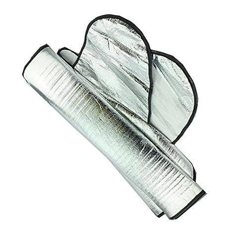 Schutzabdeckung für Kfz-Windschutzscheibe, zur Verhinderung einer Frost- und Eisschicht, 1 Stück