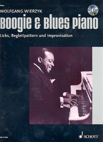 für Klavier (+CD) mit Bleistift -- der einfache Weg zum Blues- und Boogie-Pianisten, von Wolfgang Wierzyk (Noten / sheet music) ()
